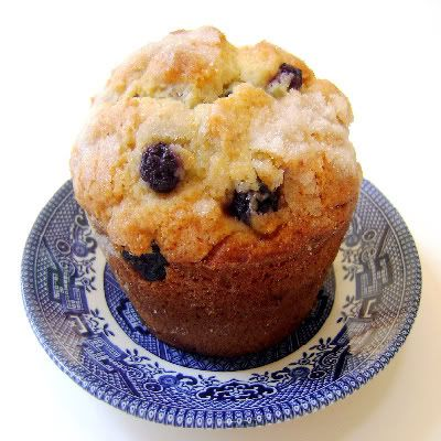 Blueberry-Corn Muffins - Blue Monday | Breads, Butter and Scones | Pi ...