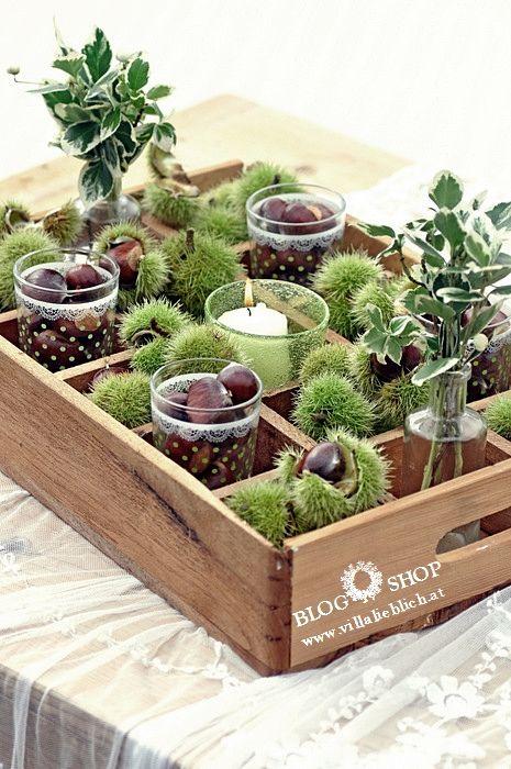 Tischdeko naturmaterialien herbst  69 besten Herbst Deko Bilder auf Pinterest | Deko herbst ...