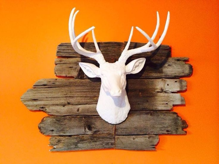 luxury ideas fake deer. The Templeton  Large Faux White Deer Head Wall Mount Board Spaces and Room