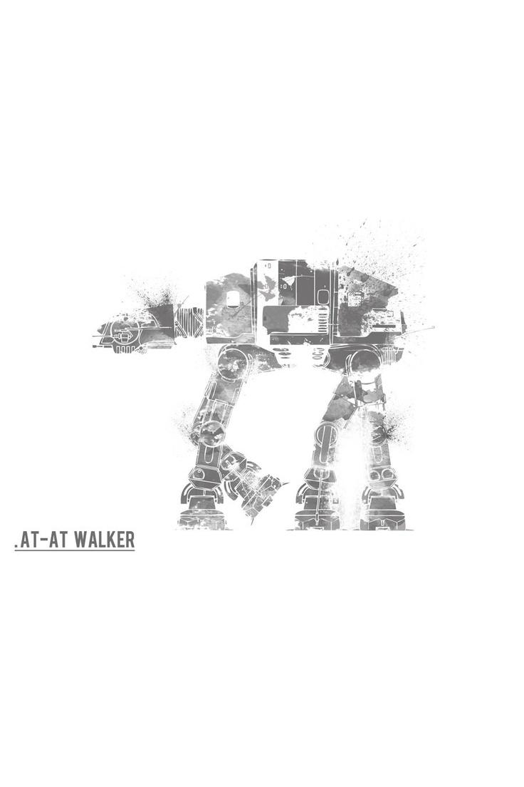 AT-ATMovie Posters, Wars Prints, Wars Vehicle, Atat Walker, Star Wars, Stars Wars, Prints Movie, Starwars, At At Walker