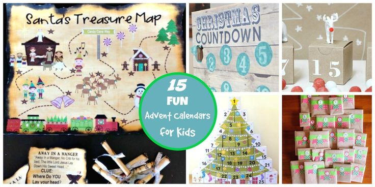 15 Fun DIY Advent Calendars for Kids! An amazing roundup of Christmas countdowns with a HUGE fun factor!!