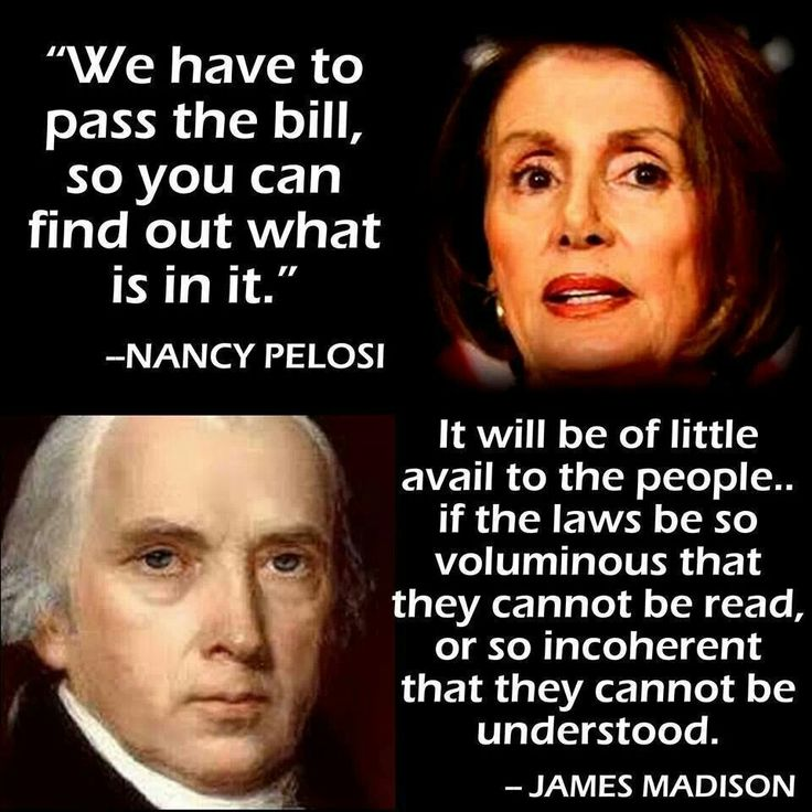James Madison saw the progressive Democrats coming... They are now in power and we are so screwed...