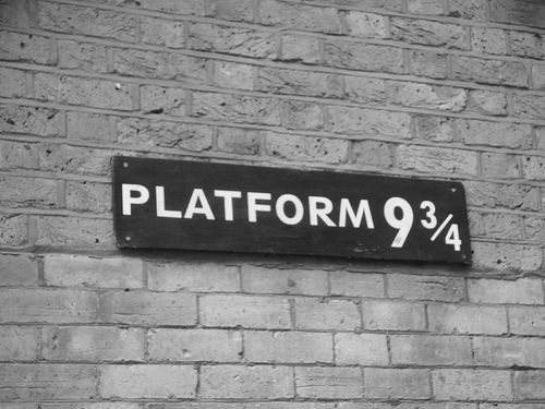 9 3/4, to be precise.: Platform, Solemnly Swear, Favorite Places, 3 4, Harrypotter, Book, Movie, Harry Potter