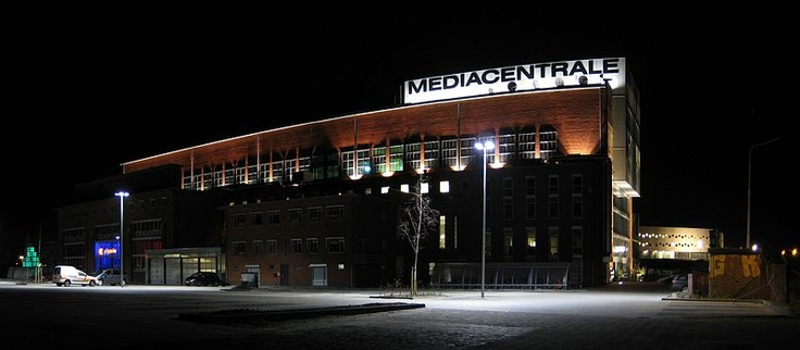 Mediacentrale, an old Power Station reshaped as a broadcasting company