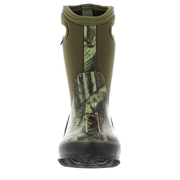 Bogs Kids' Classic Camo Winter Boot Toddler/Pre/Grade School Boots (Mossy Oak) - 13.0 M