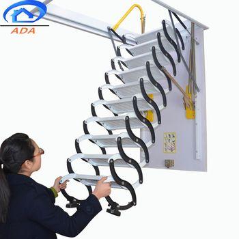 Best 2019 New Model Electric Telescopic Folding Ladder Metal 400 x 300