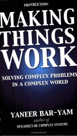 Making Things Work: Solving Complex Problems in a Complex World / Gwneud Pethau Gweithio: Datrys Problemau Cymhleth mewn Byd Cymhleth #gccy16