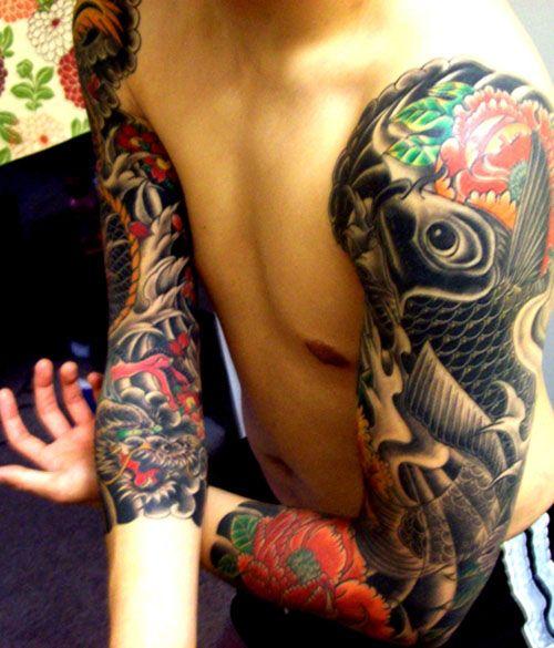 Tatouage homme japonais