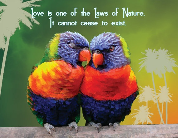 LOVE Universal Law  Unique Greeting Card by ShabooPrints on Etsy, $2.95