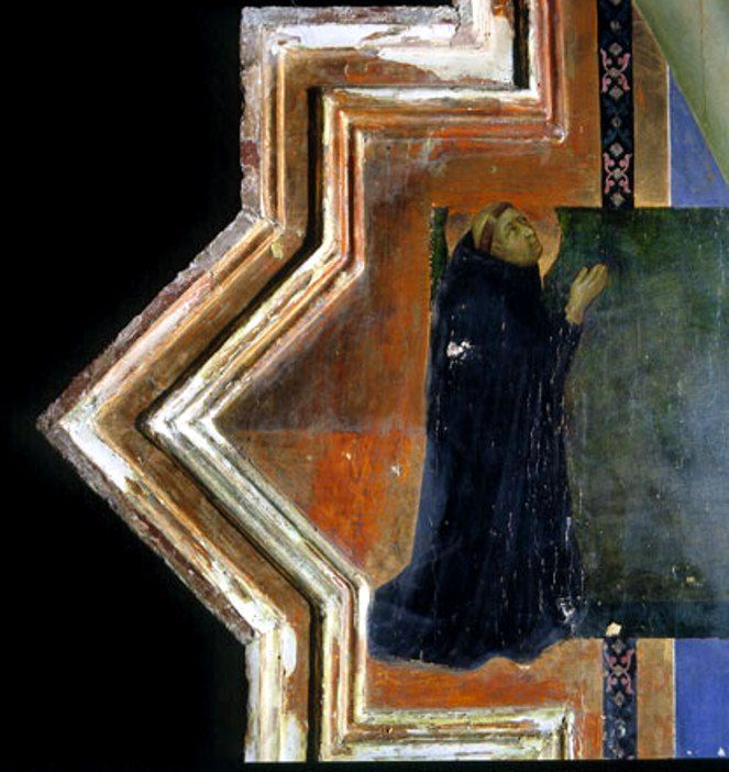 Ugolino Di Nerio Painted Cross c. 1330. detail - Уголино ди Нерио — Википедия
