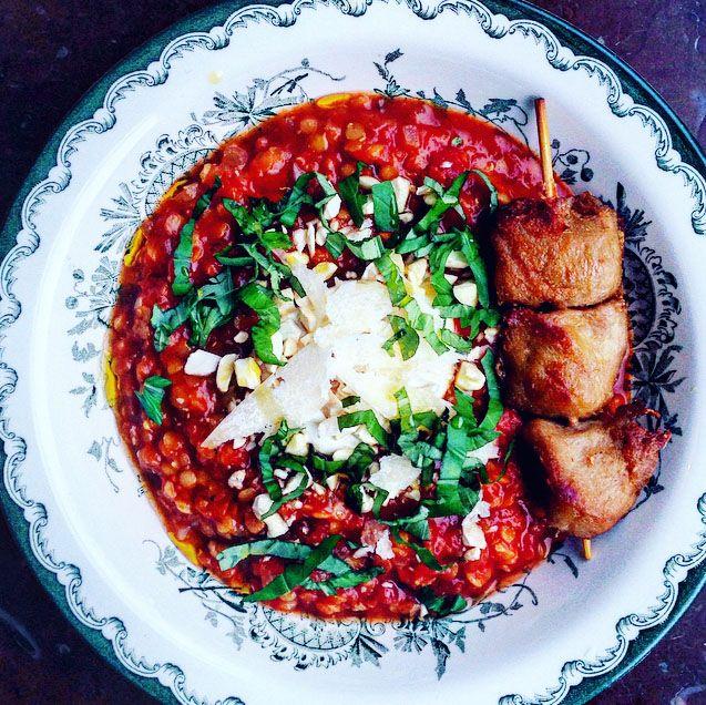 Linssoppa med citron, spiskummin och chili – Tuvessonskan | Enkel vegetarisk mat