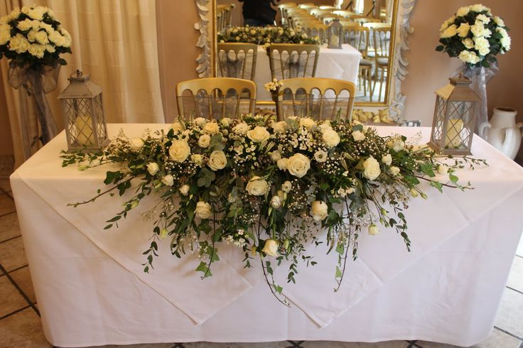 16 best wedding flowers top table flowers by emz flower boutique we are a nottingham wedding florist based in sherwood we specialised in wedding flowers and can cater for any style or budget please get in contact for a junglespirit Image collections