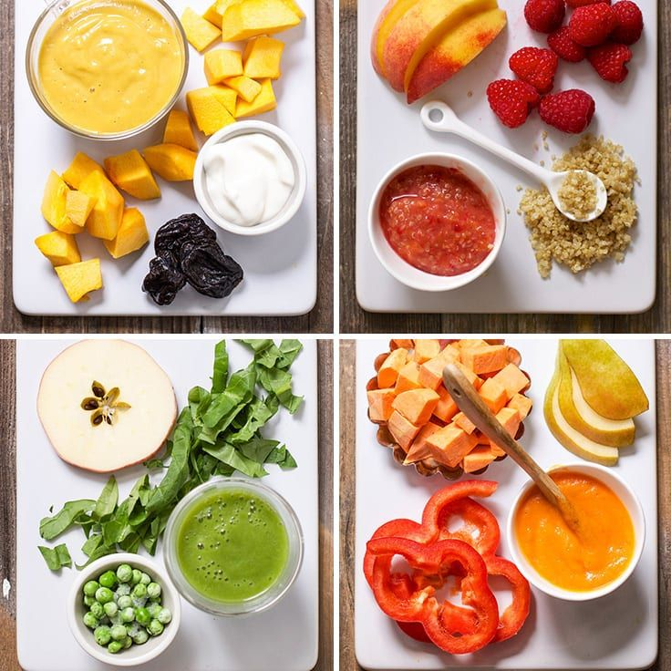 15 fast baby food recipes made in under 15 minutes