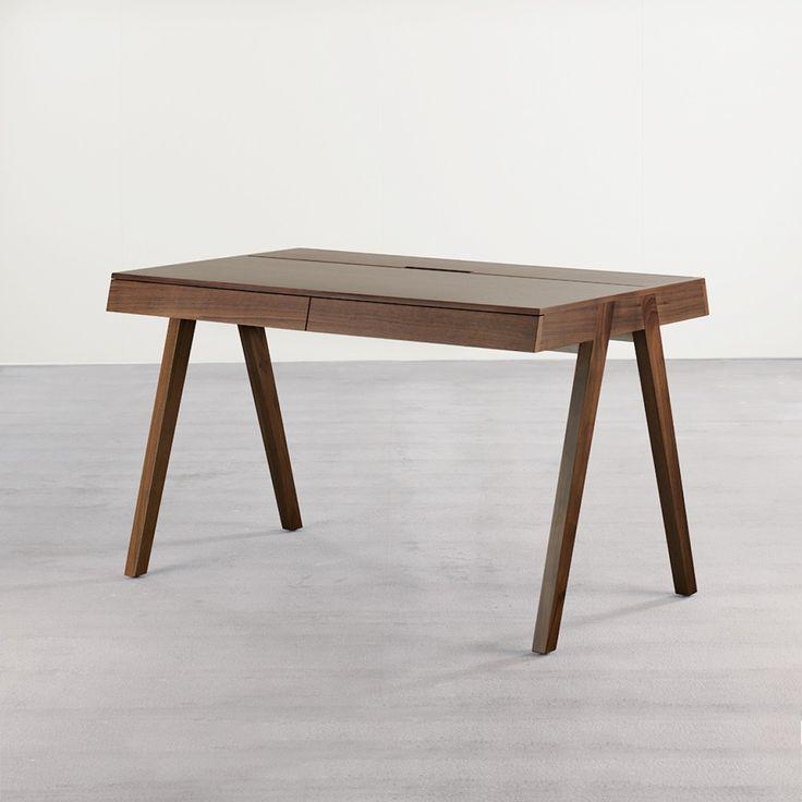 U0027Homestationu0027 Desk In Walnut   Desks   Tables