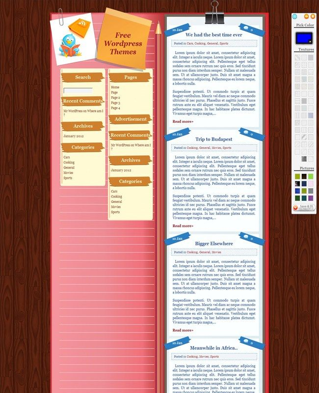 Back to School - Creative Free WordPress Theme
