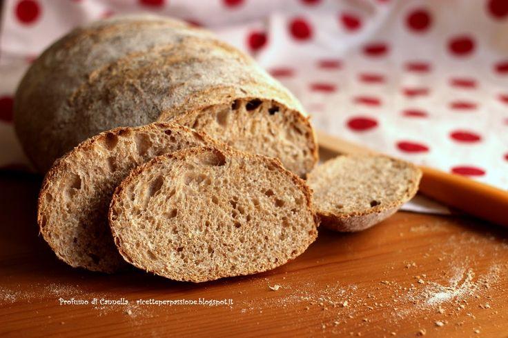 Profumo di cannella: Pane semi integrale - si fa presto a dire pane!