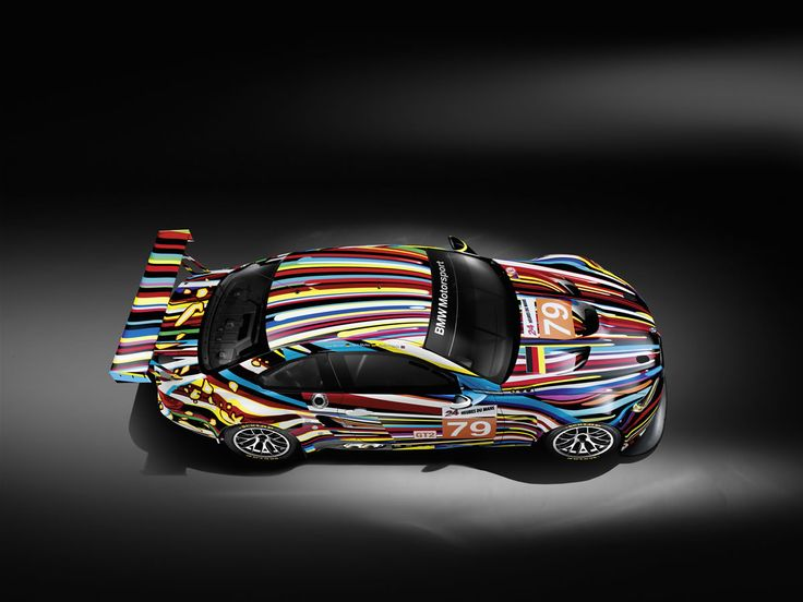 BMW Art Car 17 | Jeff Koons | United States | 2010 BMW M3 GT2 – the BMW Art Car collection
