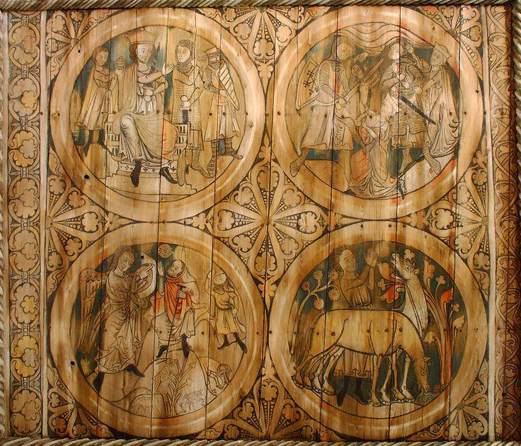 'Massacre of the Innocents' Dädesjö Church, Småland, late 13th century, Sweden