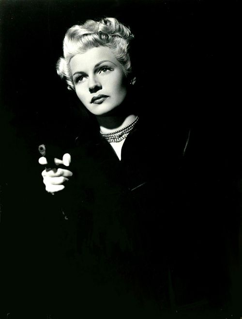 """The Lady From Shanghai. """"Killing you is killing myself. But you know, I'm pretty tired of both of us."""""""