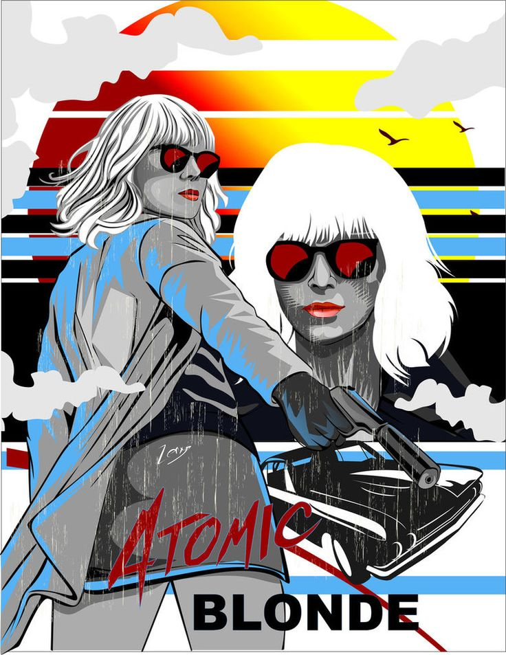 Atomic Blonde by zenxys.deviantart.com on @DeviantArt