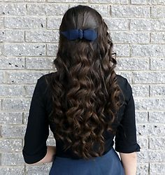 Remington Curling Wand (larger size) curl results