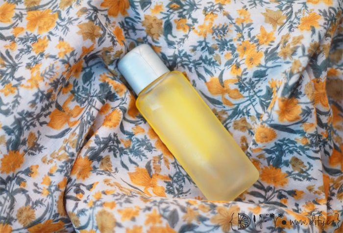 Nejjednodušší domácí tělový olej s pomerančem (recepty na jednoduchou přírodní DIY kosmetiku)