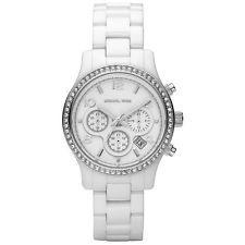 Michael Kors White Ceramic Ladies Watch MK5469