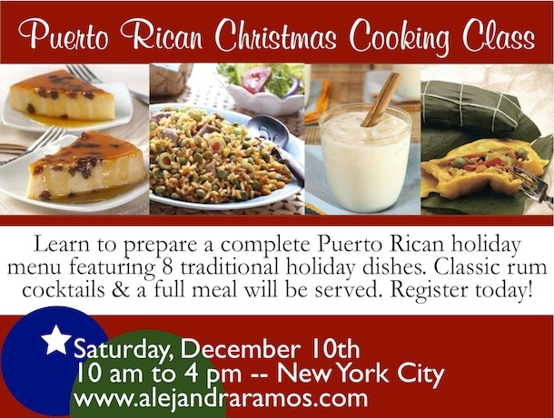 The 30 best images about puerto rican foodrecipes on pinterest always order dessert event puerto rican christmas cooking class this saturday dec 10 forumfinder Choice Image