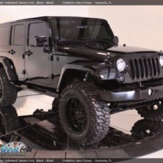 Black jeep.. I want one