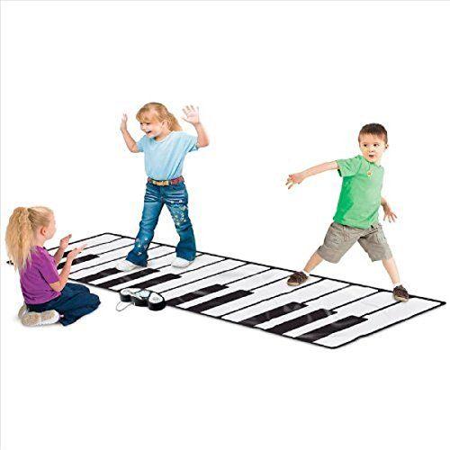 """Rhode Island Novelty Giant 100"""" Electronic Floor Mat Keyboard Rhode Island Novelty http://www.amazon.com/dp/B005E3RGBO/ref=cm_sw_r_pi_dp_icU.wb1Z82BEZ"""