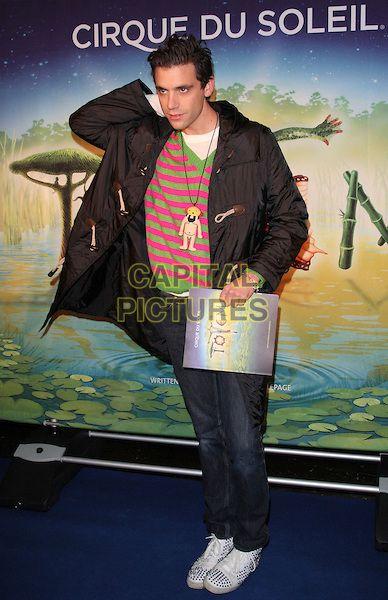 MIKA (Michael Holbrook Penniman, Jr.) @ UK Premiere of Cirque du Soleil's 'Totem' at the Royal Albert Hall, London, England, UK, January 5th 2011