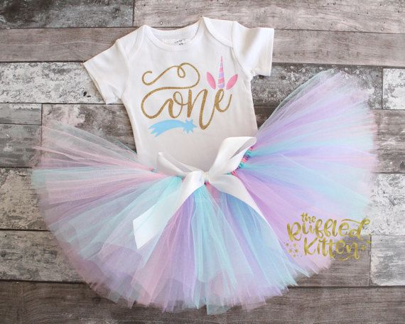 Unicorn First Birthday Outfit First Birthday By