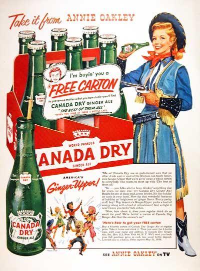 Canada Dry vintage advertising