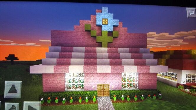 Minecraft Flower Shop