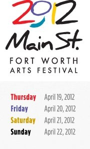 Main St. Arts Festival - April 19-22   http://www.mainstreetartsfest.org/
