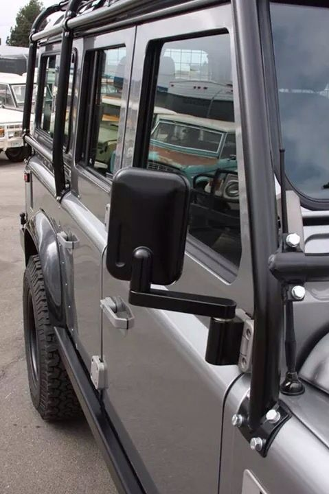 Beautifully Engineered Wing Mirrors On Icon 4x4 110