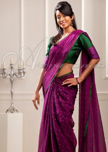 Chiffon sarees are majestic, graceful as well as best increase elegance connected with women. aavaranaa offers big collection of chiffon sarees like ordinary chiffon sarees like plain chiffon sarees, embroidered chiffon saris, designer chiffon saris online at realistic price ranges.If you want to purchase these sarees get it online from that shopping portal.
