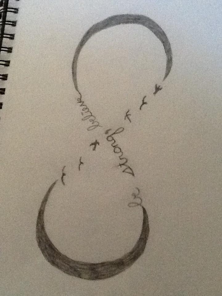 how to draw infinity symbol
