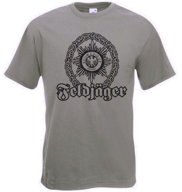 Bundeswehr T-Shirt Feldjäger in der Farbe oliv / mehr Infos auf: www.Guntia-Militaria-Shop.de