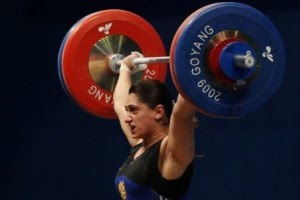 Nazik Avdalyan (born October 31, 1986 in Gyumri, Armenia) is an Armenian weightlifter. Avdalyan won a gold medal at the 2009 World Weightlifting Championships. Avdalyan is the first ever weightlifter from the independent Republic of Armenia to win a gold medal at the World Weightlifting Championships and the first ever woman from Armenia to win a world championship in any sport.