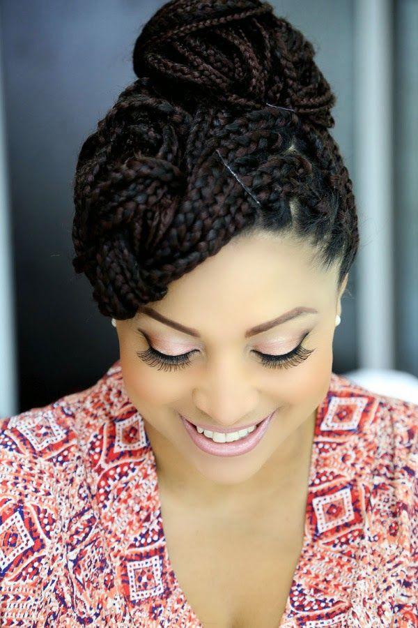 lates pics of ebony hair styles