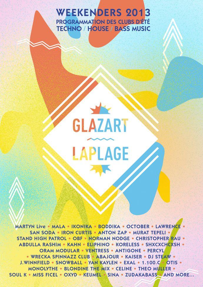 Basor - The Weekenders, La Plage - Glazart