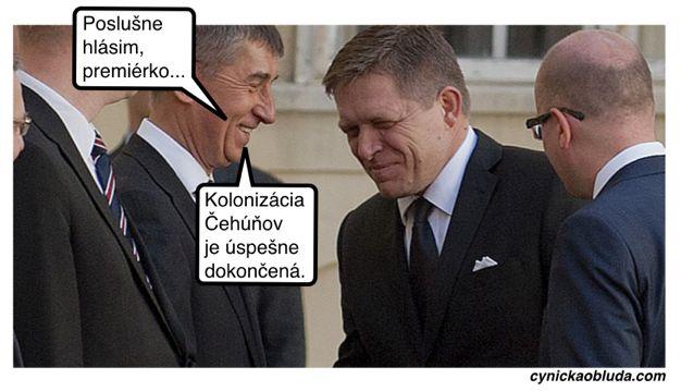 Si Česi mysleli, že ako s nami pri rozdeľovaní federácie vytreli podlahu. Lenže Slovensko malo plán... A keďže Babiš je z tých komunist...