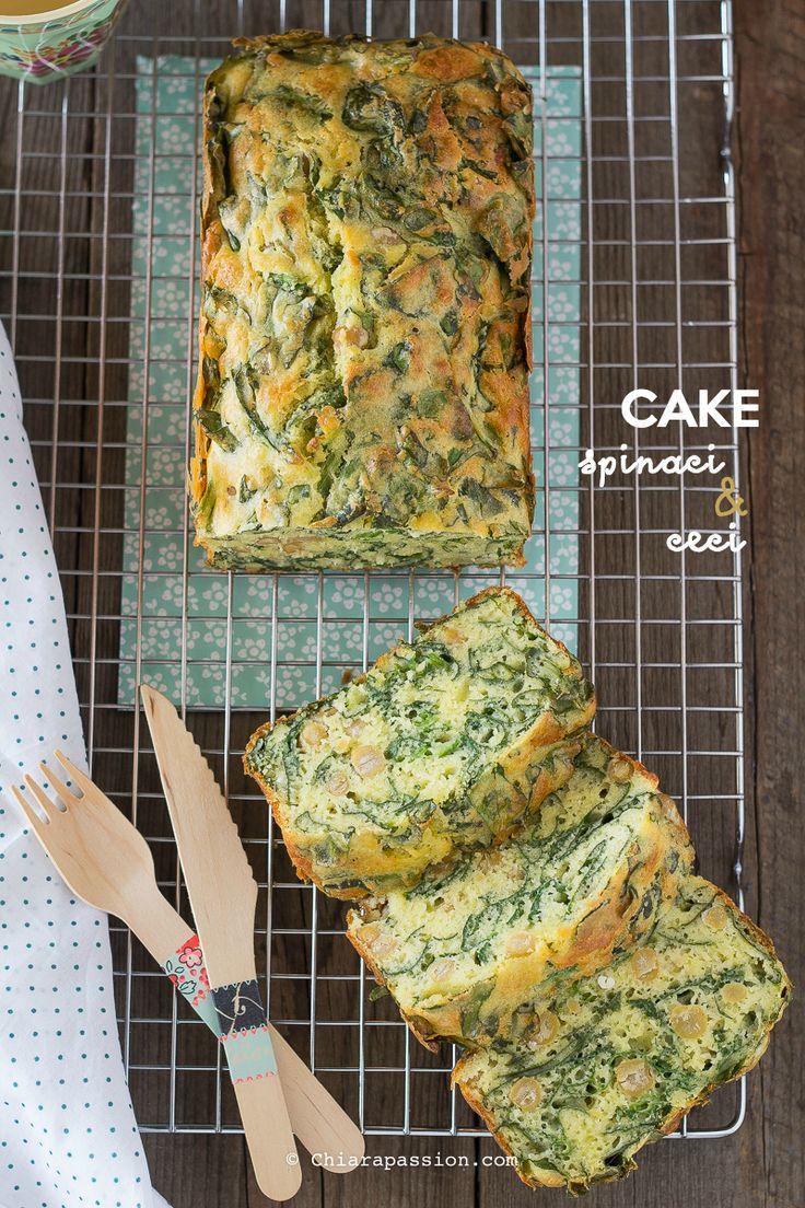 Plumcake con spinaci e ceci morbidissimo | Chiarapassion