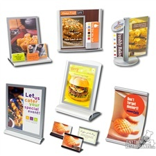 Countertop Displays and Item Identifiers