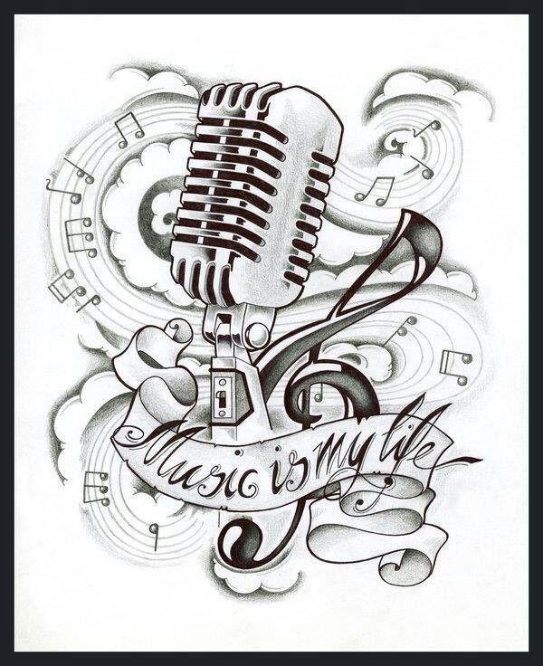 la musica es buena para olvidar por un rato los problemas , y estar feliz :)