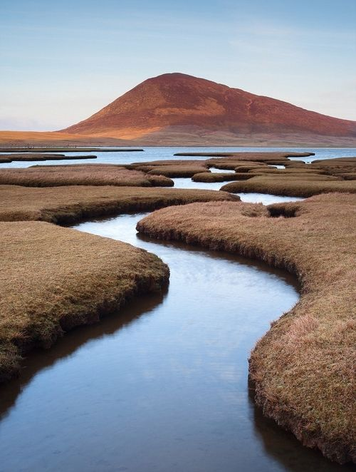 Rodel Saltmarsh in the Isle of Harris, Outer Hebrides   Scotland (by David Clapp)