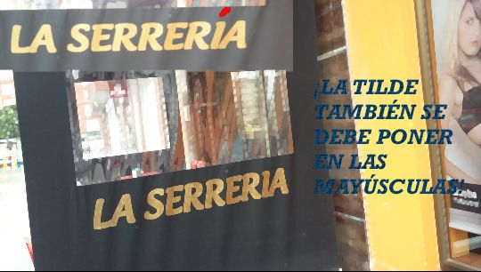 falta de ortografía encontrada en Las Vegas, Corvera de Asturias Por Celia Díaz Flórez