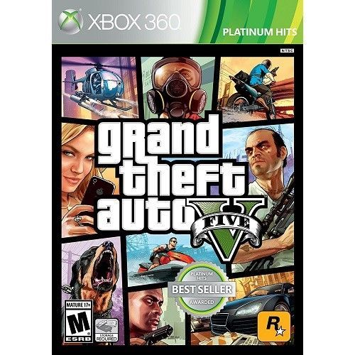 Grand Theft Auto 5 360 GTA Multiple New Online Players Sealed Xbox