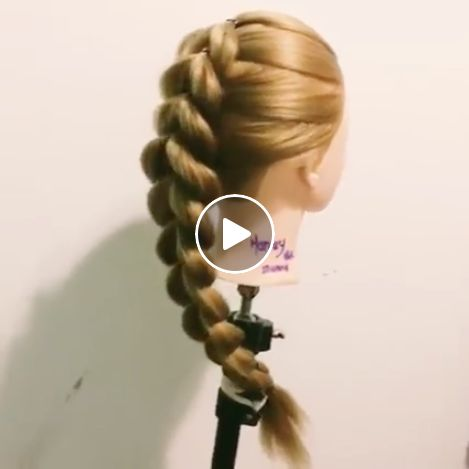 Easy Fake Braid With Rubber Bands For China Https Www